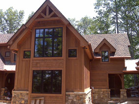 Prestained Exterior Wood Siding Prefinished Shingles