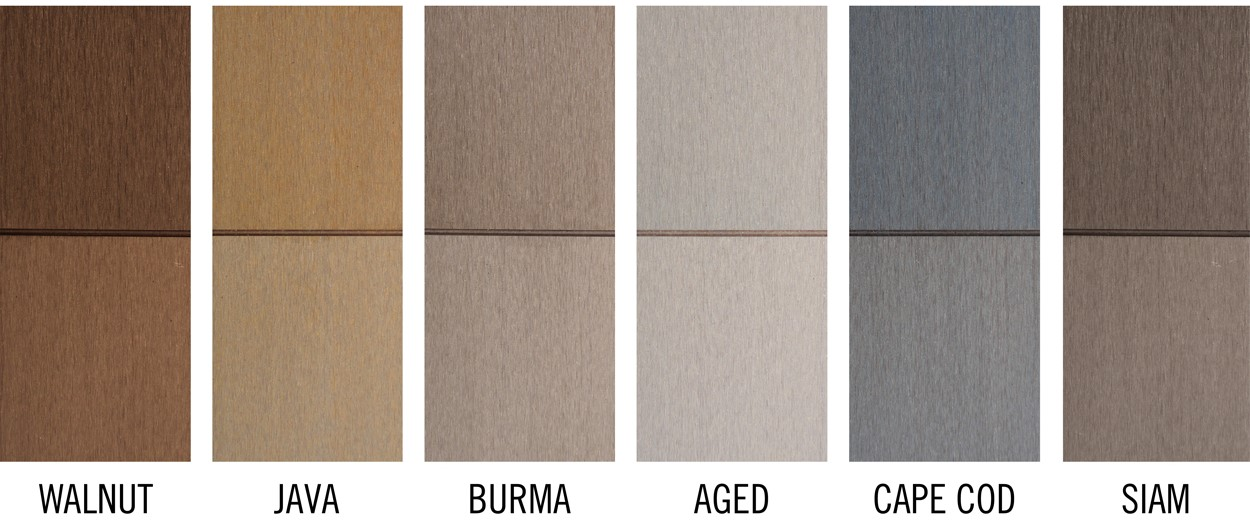 7 Popular Siding Materials To Consider: Pre-stained Faux Wood Grain